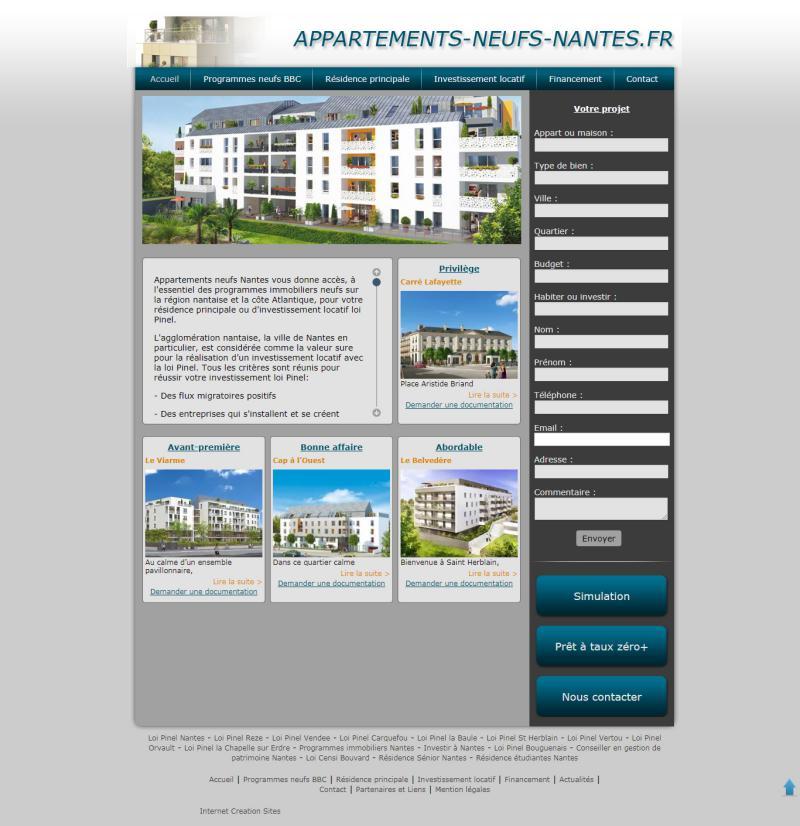 Appartements neufs Nantes