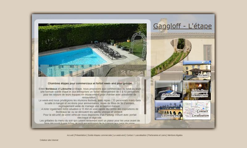 Gangloff – L'étape